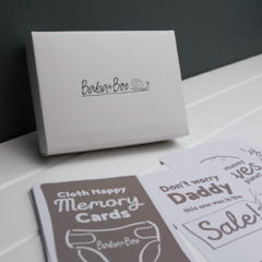 Baba&Boo Cloth Nappy Memory Cards