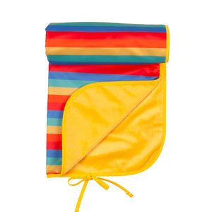 Tots Bots Rainbow stripe changing mat