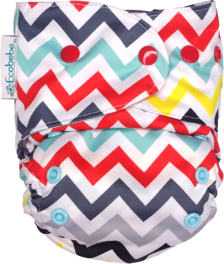 Ecobebe, Onesize, All in Two Nappy