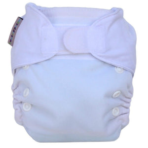 Ecopipo Newborn Nappy White