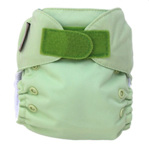 Ecopipo Newborn Nappy Apple Green