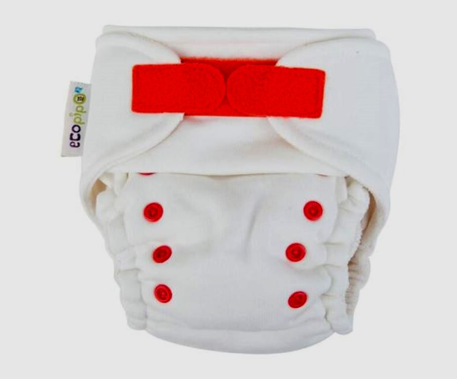 Red Ecopipo Night Nappy