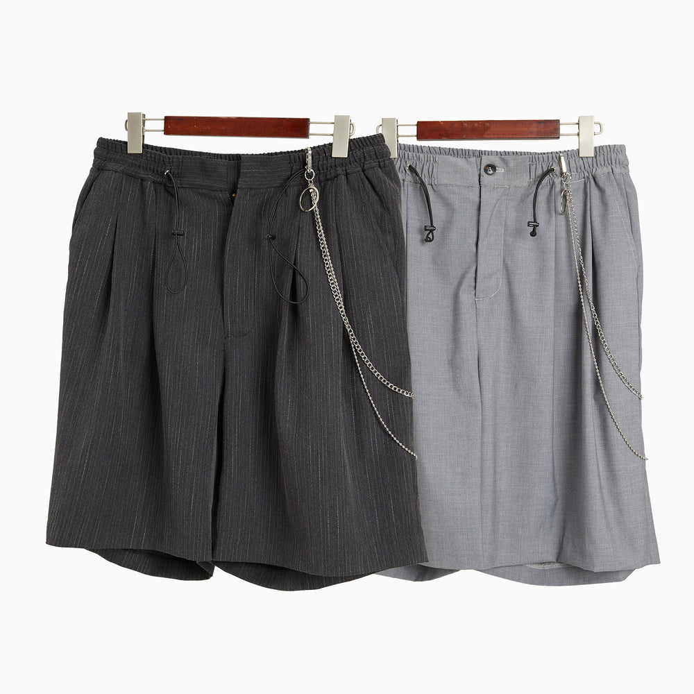 MULT SS Chained Suit Shorts