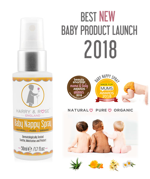 Harry & Rose - Award Winning Organic Baby Nappy Spray