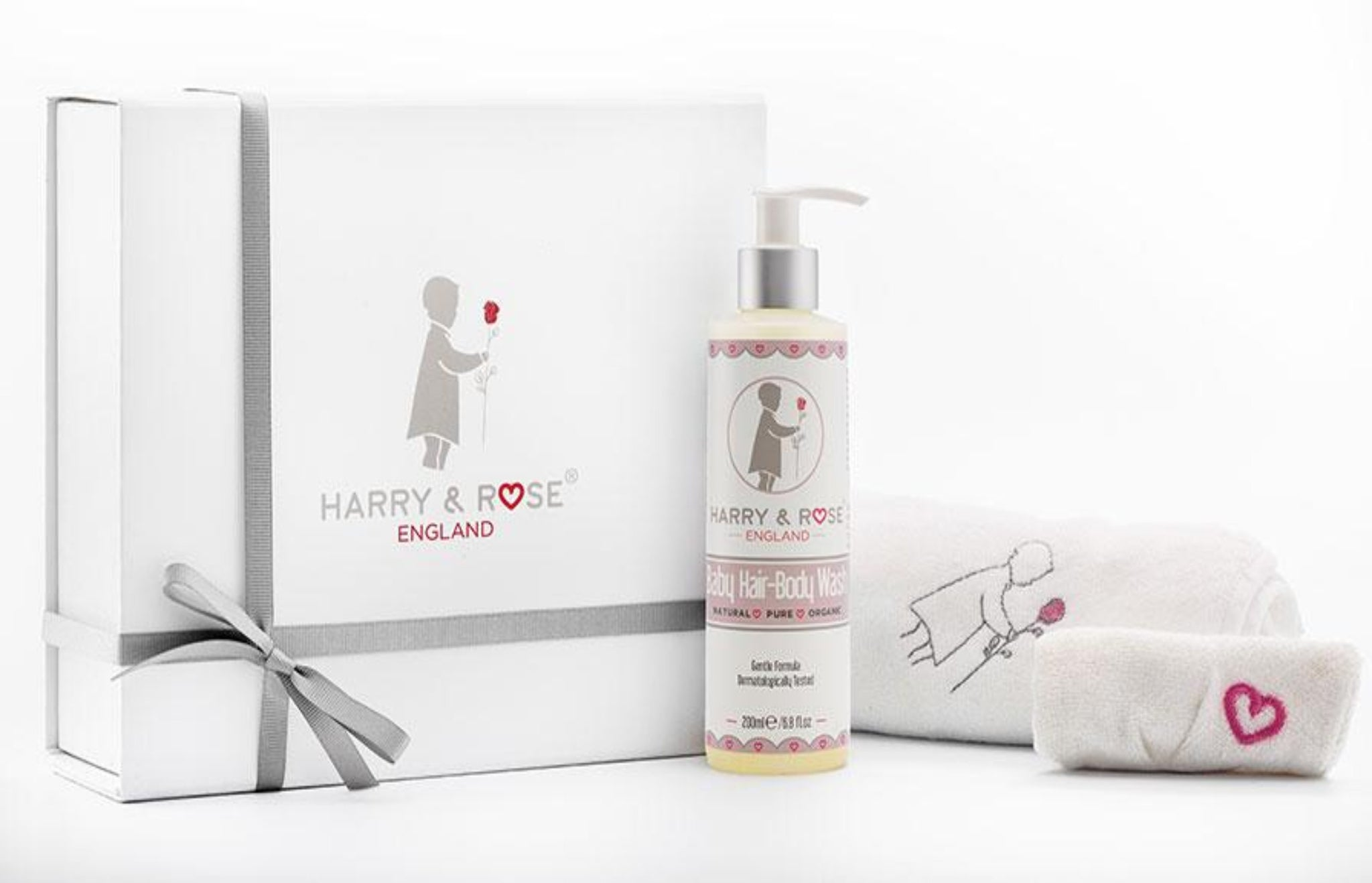 Harry & Rose - Baby Bath - Organic baby - Baby products - baby skincare - baby products UK - newborn bath