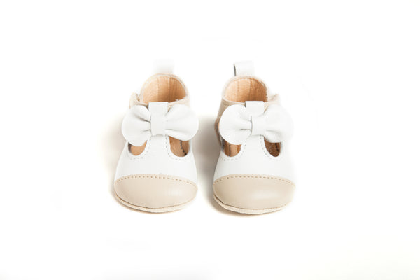 Matilda Leather T-Bar Baby Shoes Shoes - Suzemu