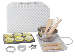 Childrens toys - pretend play - kitchen toys - childrens baking set