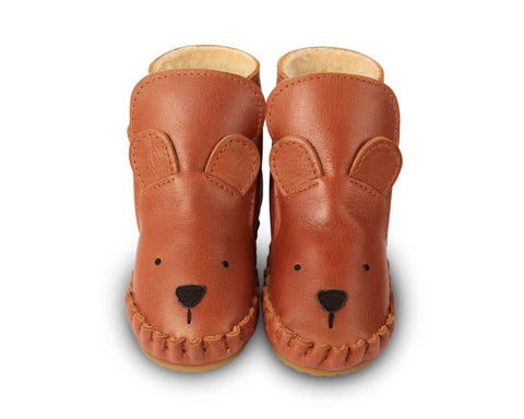 Kapi Lining Boots - Bear Shoes - Suzemu