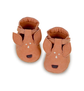Donsje Leather Spark Velcro Baby Shoes - Deer Shoes - Suzemu