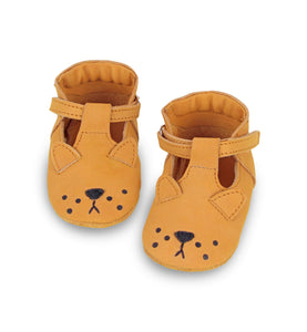Donsje Leather Spark Velcro Baby Shoes - Lion Shoes - Suzemu