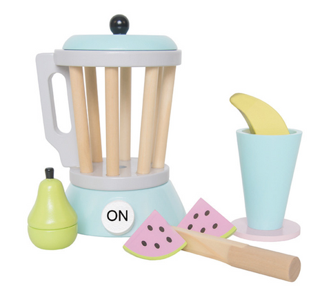 wooden toys - pretend play - wooden kitchen toys