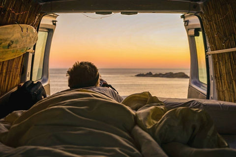 Van Life Seal Rocks