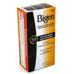 Bigen Powder Hair Color #59 Oriental Black 0.21oz