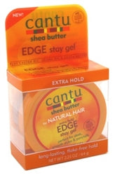 Cantu Shea Butter Edge Stay Gel Extra Hold 2.25oz