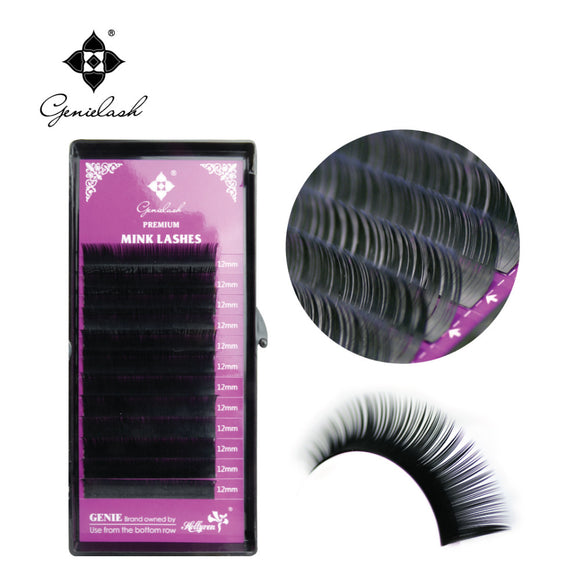 GENIE LASH 1 Case All Size  volume eyelashes extensions for building false mink  individual eyelashes extension supplies