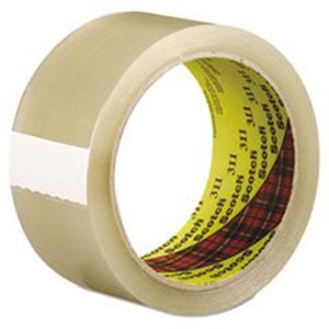 3M Industrial 021200-88292 Scotch Box Sealing Tapes 311 - Hardware X Supply