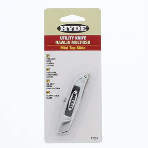 Hyde 42025 Mini Top Slide Utility Knife