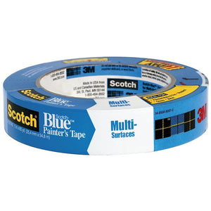Scotch-Blue Multi-Surface Painter's Tape, 1 in X 60 yd - Hardware X Supply