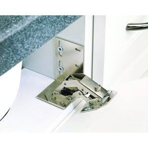Rev-A-Shelf 6552-ETH-10 Euro Face Frame Tip-Out Tray Hinge (1 Pair)