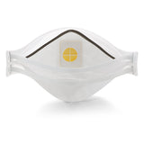 Aura Particulate Respirator, Half Facepiece, One Size Fits Most, Cool Flow Valve - Hardware X Supply