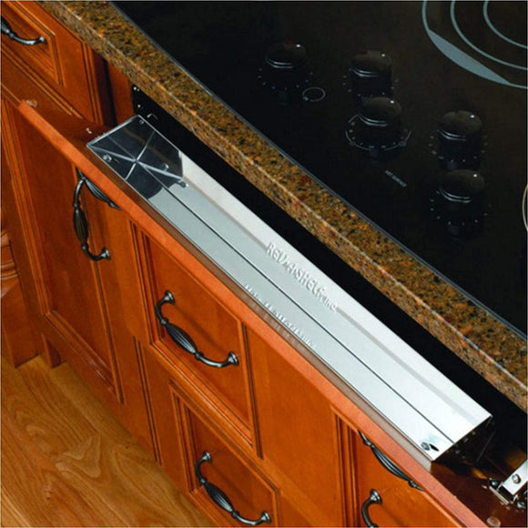 Rev-A-Shelf 6581 Stainless Steel Tip-Out Tray
