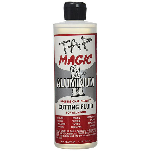 Tap Magic 20016A Aluminum Cutting Fluid With Spout Top, 16 oz - Hardware X Supply