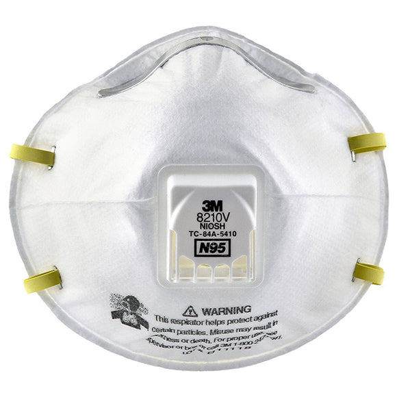 N95 Particulate Respirators, Half Facepiece, Non-Oil Filter, One Size (10 Pack) - Hardware X Supply