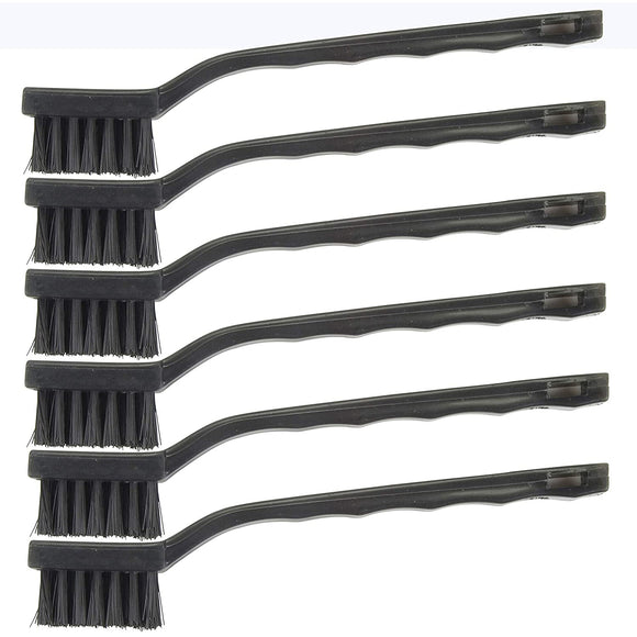 Hyde 46615  Nylon Wire Brushes - Pack of 6 (Nylon)
