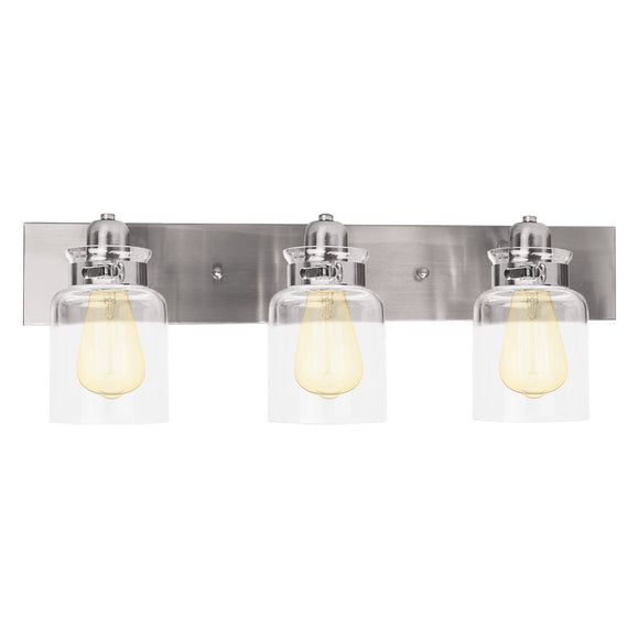 Nuk3y Vintage Bathroom Vanity Light Fixture with Light Globe
