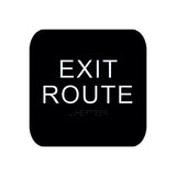 "Cal Royal Exit Sign, 4"" x 5-3/4"" - Hardware X Supply"