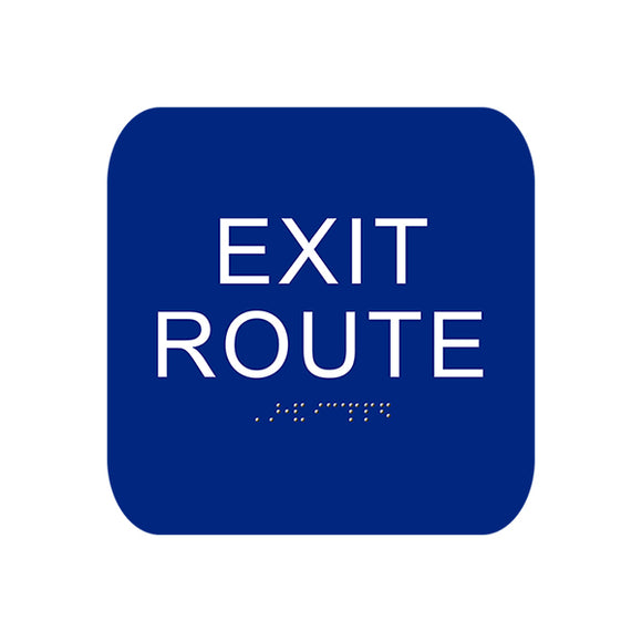 Cal Royal Exit Sign, 4