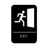 "Cal Royal Exit Sign, 6"" x 9"" - Hardware X Supply"