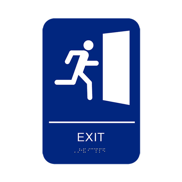 Cal Royal Exit Sign, 6