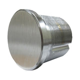 "Cal Royal 1"" Blank Mortise Cylinder - Hardware X Supply"