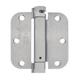 "Nuk3y 3 1/2"" x 3 1/2"", Spring Hinge 5/8"" Radius, UL Rated - Hardware X Supply"