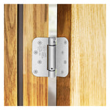 "Nuk3y 4"" x 4"" , 5/8 Radius, Spring Hinge, UL Listed (2 Pack) - Hardware X Supply"