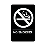 "Cal Royal No Smoking Sign, 6"" x 9"" - Hardware X Supply"