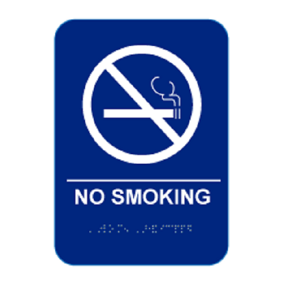 Cal Royal No Smoking Sign, 6