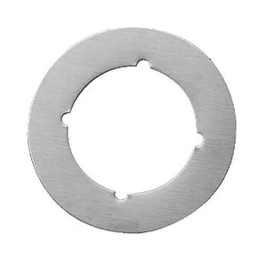 "Don-Jo SP 135 Scar Plate, Satin Stainless Steel Finish, 3-1/2"" O.D, 2-1/8"" I.D"