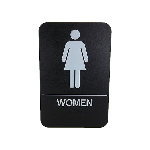 Cal Royal Women Restroom Sign, 6