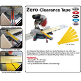 "Fastcap Zero Clearance Tape 2"" x 16"" strips 5pc - Hardware X Supply"