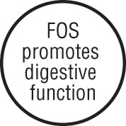 FOS promotes digestive function