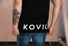 Kovic - Rose T-Shirt Black