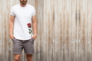 Kovic - Rose T-Shirt White