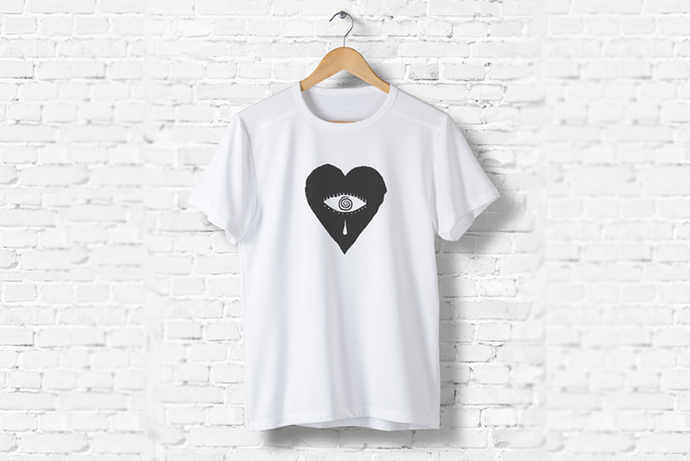 Kovic - Heart T-Shirt White