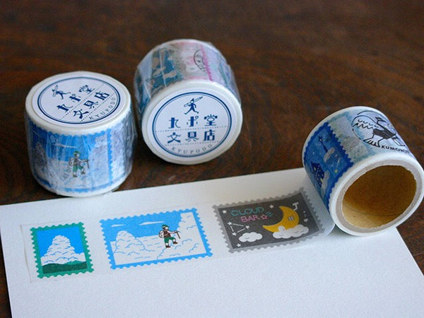 KYUPODO Post Office Masking Tape - 雲上景色2