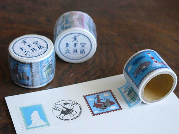KYUPODO Post Office Masking Tape - 飛行機