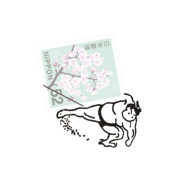 A small around the world - Sumo 郵票印章 - 相撲 (Pre-order)