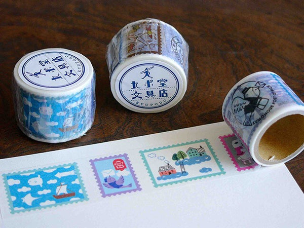 KYUPODO Post Office Masking Tape - 雲上景色1