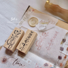 novebyvivent rubber stamp - Spring Time set C (set of 2)